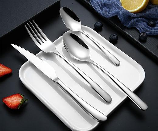 SUS 304 spoon, fork, knife set